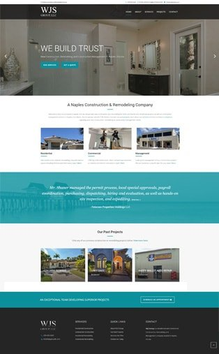 Web Design Naples Florida - Oli Denson - Construction Web Design