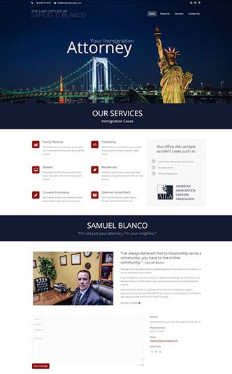 Web Design Naples Florida - Oli Denson - Law Website Lawyer Website Design