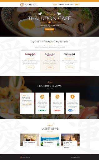 Restaurant Web Design Naples Florida - Oli Denson A Naples Web Designer