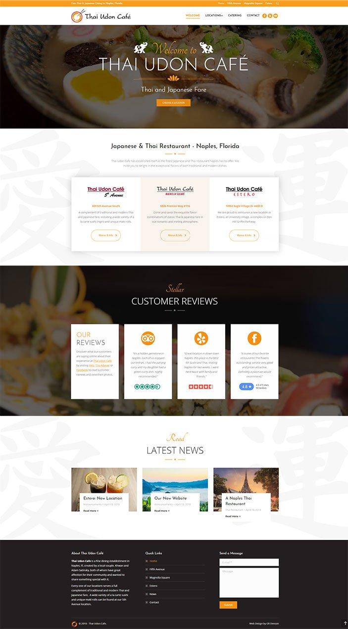 Restaurant Web Designer Naples FL - Oli Denson A Naples Web Design