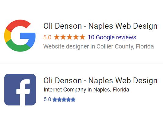 Web Designer Naples Florida - Oli Denson- Naples Web Design