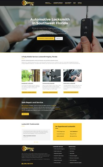 Locksmith Web Design Naples Florida