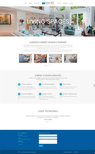 cabinetry web design Naples Florida